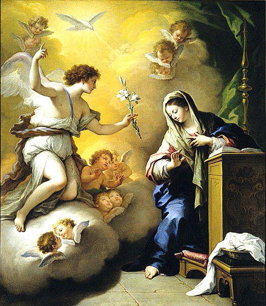 Solemnidad de la Anunciación de Cristo, 25 de marzo