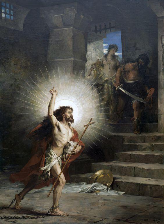 Martirio de San Juan el Bautista, 29 de agosto