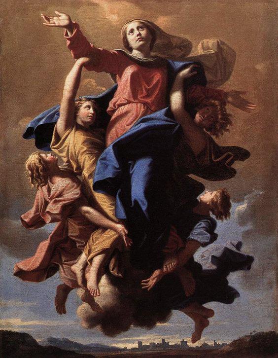 Novena a la Asunción de la Santísima Virgen María