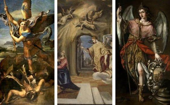 Novena a los Santos Arcángeles Miguel, Gabriel y Rafael