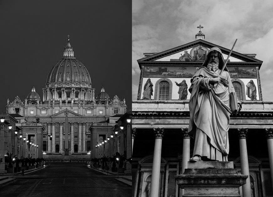 Dedicación de las Basílicas de San Pedro y San Pablo en Roma